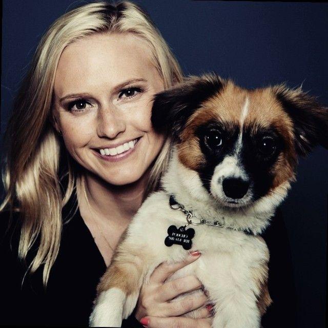 Photo of Nikki with her dog Poncho