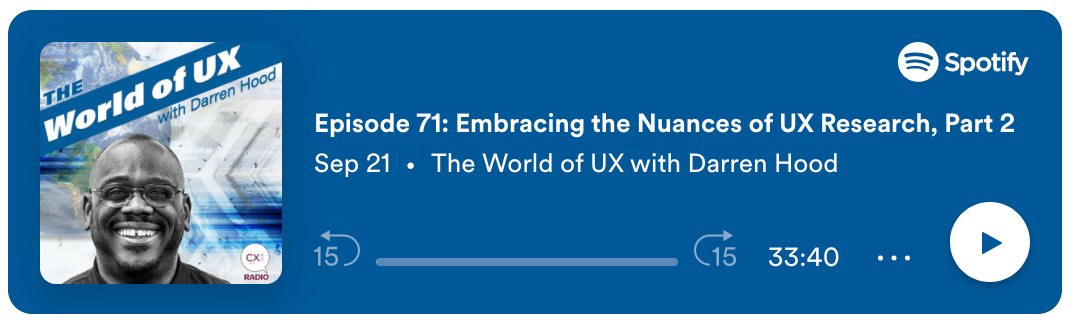 Embracing the nuances in UX Research